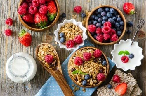 gute Ernährung gegen Muskelschmerzen