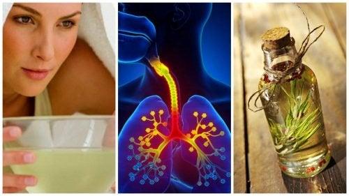 6 Hausmittel gegen Bronchitis