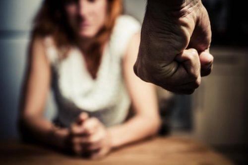 misshandelte Frauen haben Angst