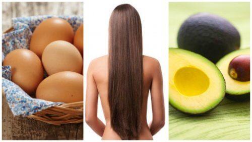 8 Lebensmittel, die den Haarwuchs fördern