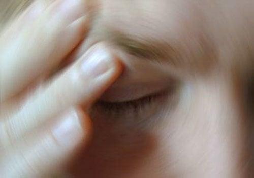 Schwindel durch visuellen Stress