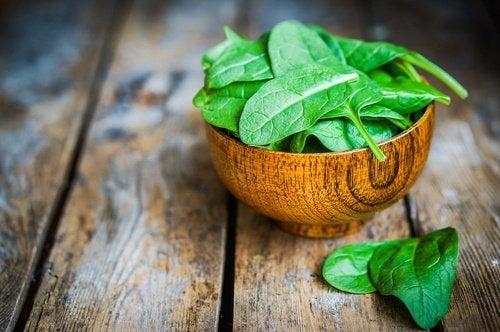 Spinat gegen schlechte Laune