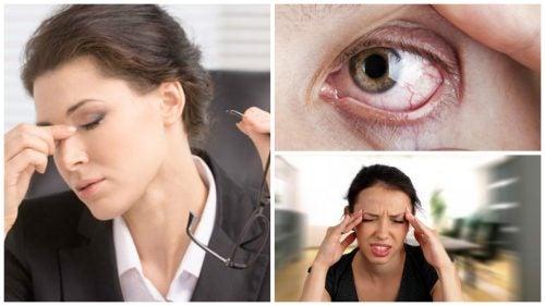 Visueller Stress? Diese 8 Symptome können darauf hinweisen
