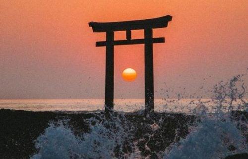 Japanischer Weg zu Glück im Alltag