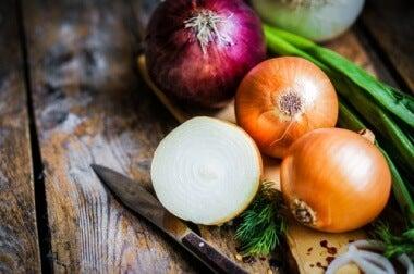 Zwiebel für gesunde Knochen