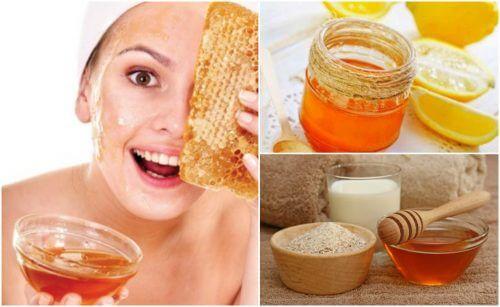 5 Masken mit Honig, die deine Falten verschwinden lassen