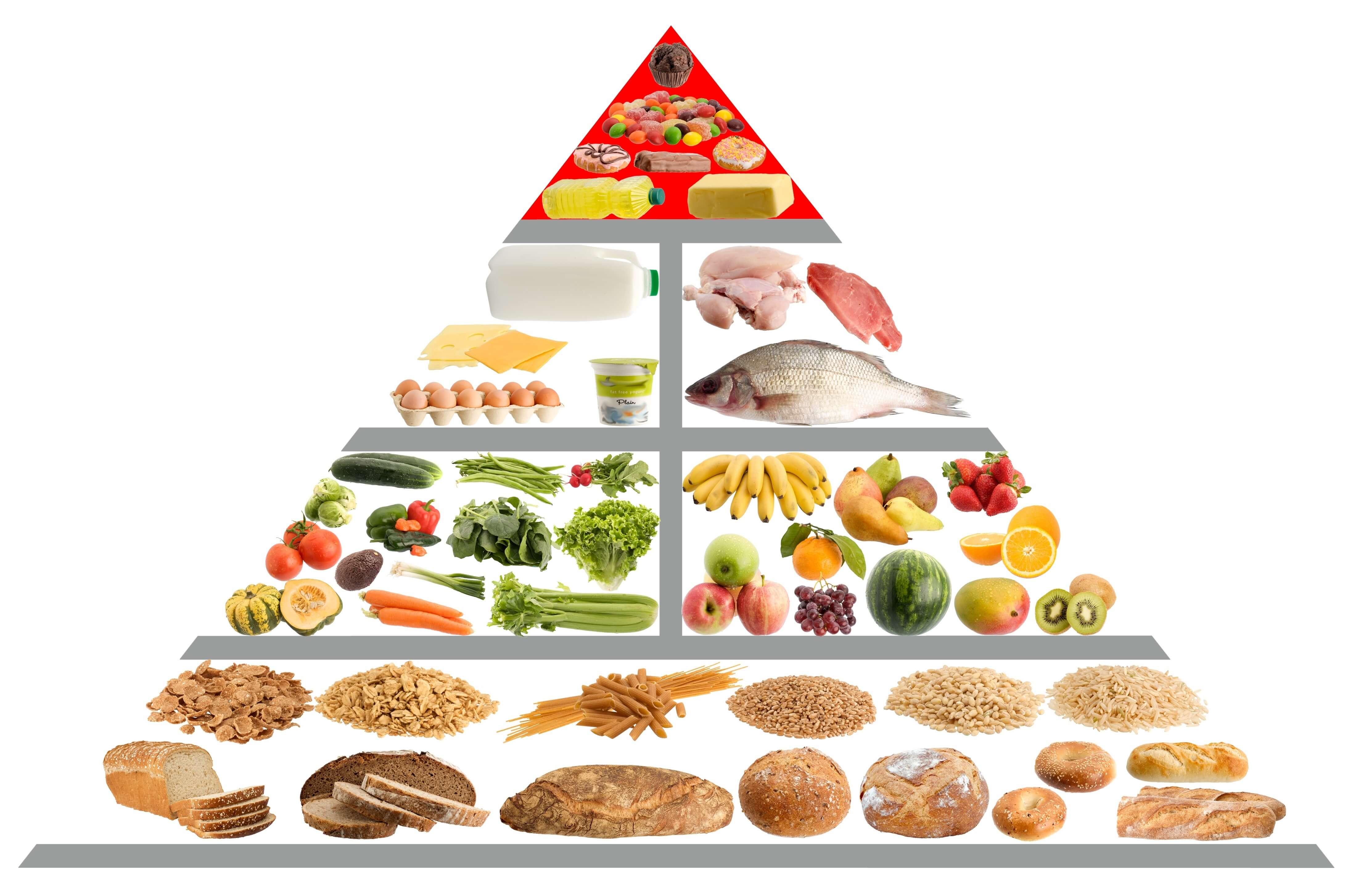 Die Ernährungspyramide