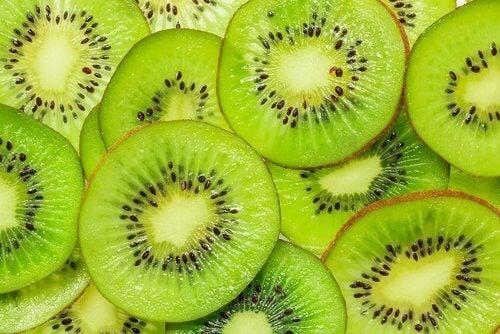 Kiwi, um Lungen zu regenerieren