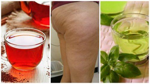 6 Kräutertees gegen Cellulite, von denen auch du profitieren kannst