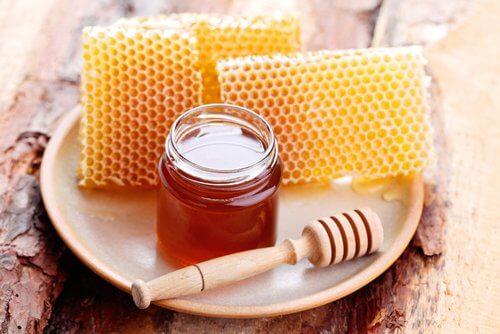 Masken mit Honig