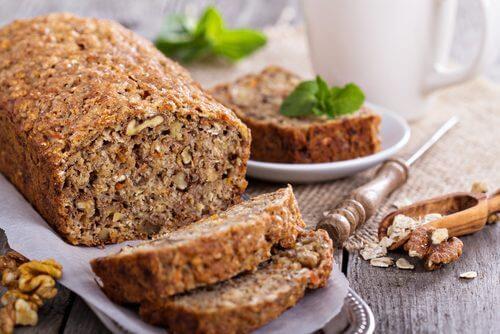 Leckeres Brot ohne Gluten und Laktose