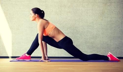 Übung für bessere Haltung und weniger Gewicht