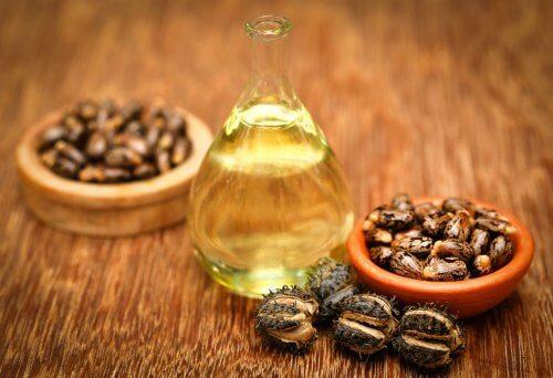 Rizinusöl für selbstgemachte Wimpernpflege für lange Wimpern