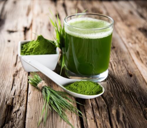 grüne Getränke sind gesund