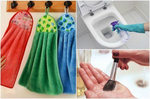 9 Dinge im Haushalt, die du täglich reinigen solltest