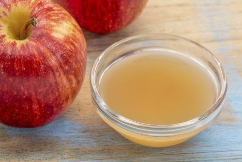 Apfelessig gegen Ringelflechte