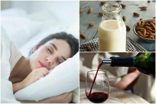 7 natürliche Getränke gegen Schlaflosigkeit