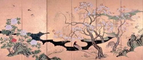 japanisch-Wabi-Sabi