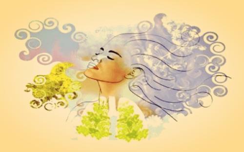 Tiefe Atmung gegen Stress und Nervosität