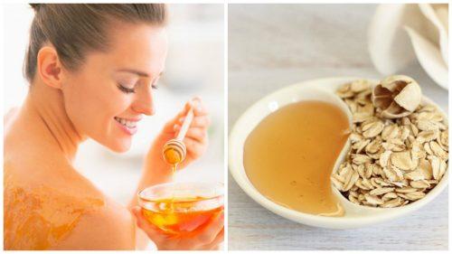 Zu den unbekannten Anwendungsmöglichkeiten von Honig gehören natürliche Peelings.
