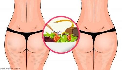 Cellulite bekämpfen mit gesunder Ernährung