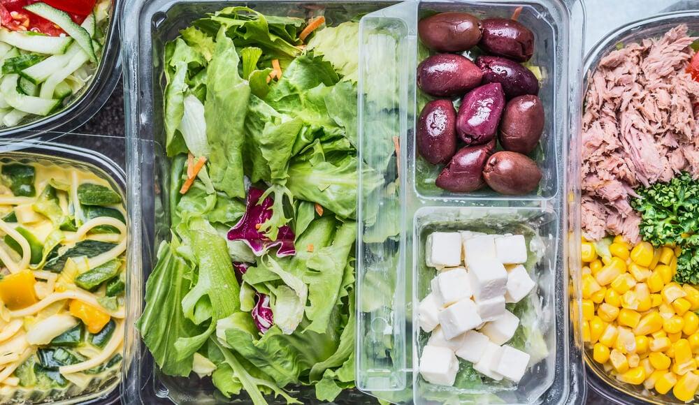 Salat für jeden Wochentag