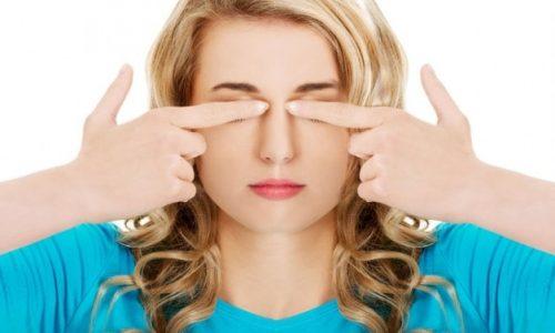 7 Übungen gegen Müdigkeit der Augen und Kopfweh