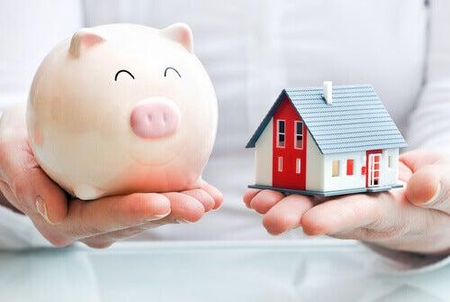 Geldsparen mit Kakebo für Haus