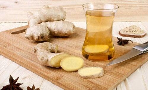 Ingwer als Hausmittel gegen Gastritis