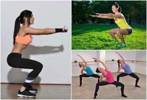Kniebeugen für das Beinmuskeltraining: 6 Varianten