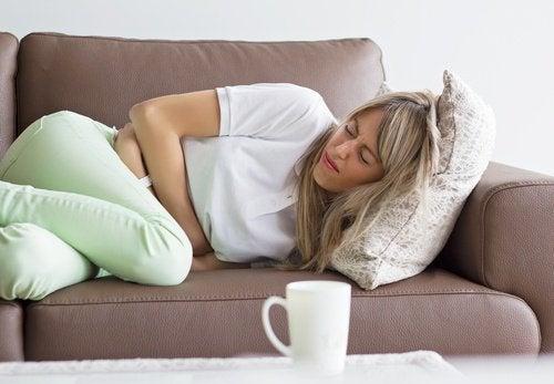 Die Menstruation- Eine der Ursachen für schmerzende Brüste