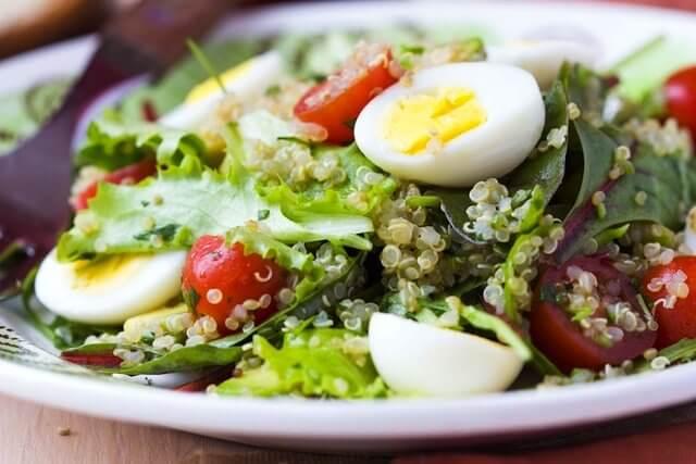 gemischter Salat für jeden Wochentag