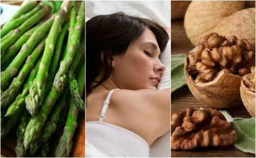 Schlaffördernde Lebensmittel für viel Melatonin