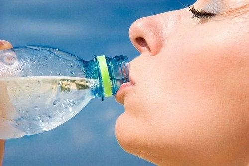 Wasser gegen körperliche Erschlaffung