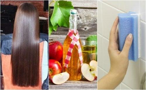 5 erstaunliche Anwendungen von Apfelessig