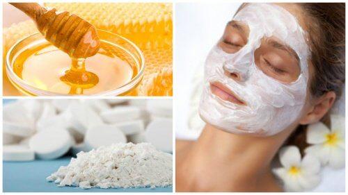 Anwendungsmöglichkeiten für Aspirin: Gesichtsmaske