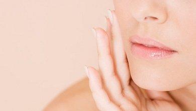 Gesichtsmaske mit Eiklar gegen geweitete Poren