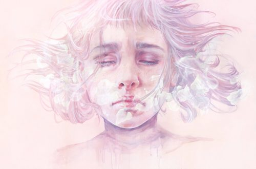 versteckte Depression einer Frau