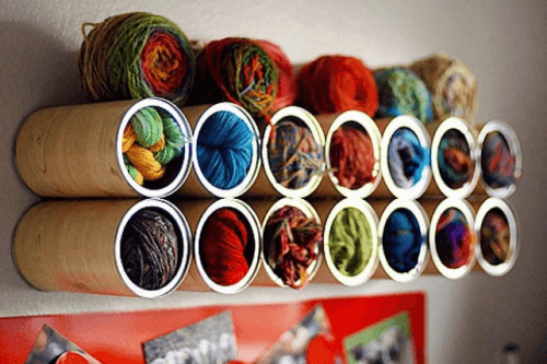Konservendosen für Wolle