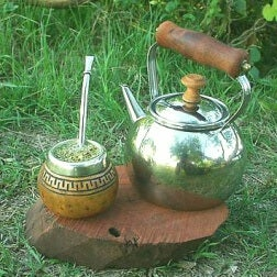 traditioneller Mate-Tee zum Abnehmen