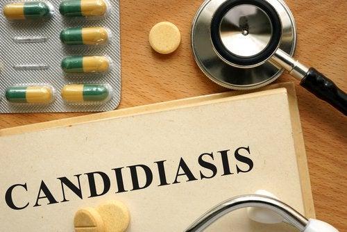 Pharmakologische Behandlung einer Candida-Infektion