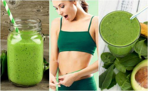5 Mixgetränke mit Spinat zum Abnehmen