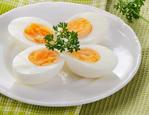 Nahrungsmittel gegen Schlaflosigkeit: hartgekochte Eier