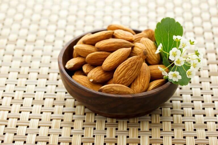 Nahrungsmittel gegen Schlaflosigkeit: Mandeln