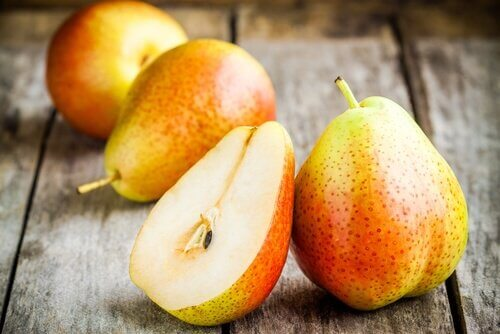 Obstsorten gegen Verstopfung: Birnen
