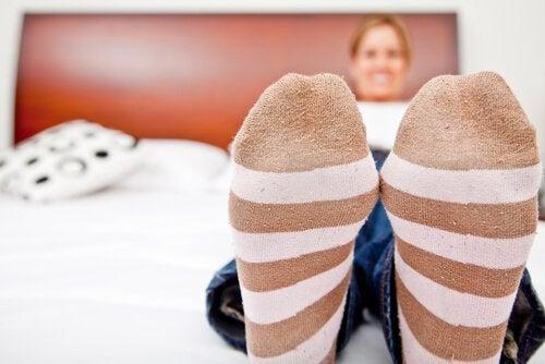warme-Socken