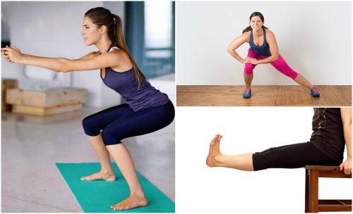 5 Übungen für straffe Beine, die du zu Hause durchführen kannst