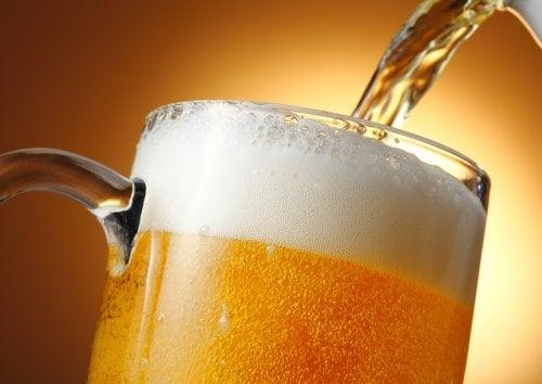 selbstgemachte Spülungen mit Bier