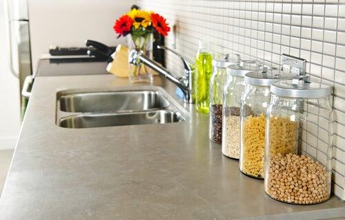 Einrichtung von kleinen Küchen
