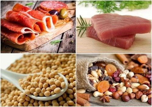 In diesen 7 Lebensmitteln steckt viel Eiweiß!